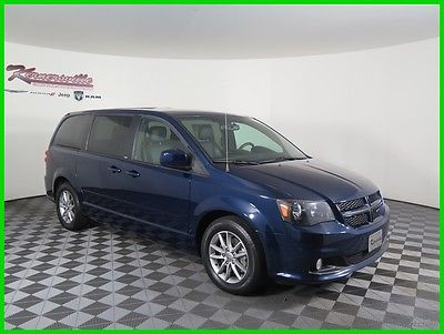 2014 Dodge Grand Caravan R/T FWD V6 Van Heated Leather Seats AUX Bluetooth 90605 Miles 2014 Dodge Grand Caravan FWD Van USB AUX 3rd Row Seating Automatic
