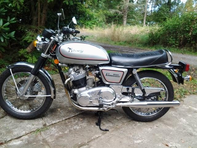 1973 Norton 850