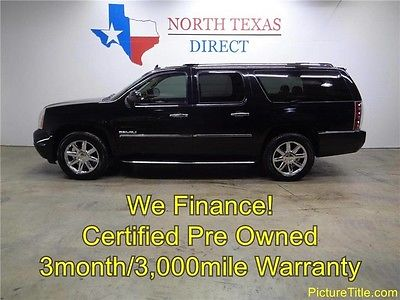 2010 GMC Yukon Denali Sport Utility 4-Door 10 Denali GPS Nav Backup Camera TV DVD Heat Cool Seats We Finance 1 Texas Owner