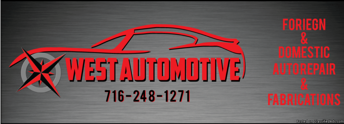 Quality Work,Affordable Prices--  West Automotive Repair Shop