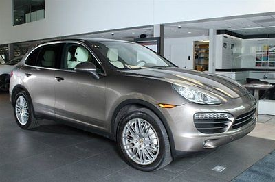 2011 Porsche Cayenne 2011 SUV Used Gas V8 4.8L/293 8-Speed Automatic w/OD AWD Leather Brown