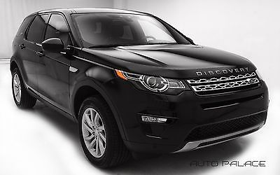 2016 Land Rover Discovery HSE 2016 Land Rover Discovery Sport