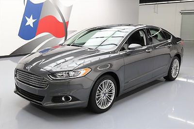 2015 Ford Fusion SE Sedan 4-Door 2015 FORD FUSION SE TECH ECOBOOST SUNROOF NAV 12K MILES #159181 Texas Direct