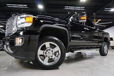 2016 GMC Sierra 2500 Denali 4x4 Diesel Sunroof Entertainment Warranty 16 Sierra 2500HD Denali 4x4 LML Duramax Allison Sunroof Entertainme Warranty 39k