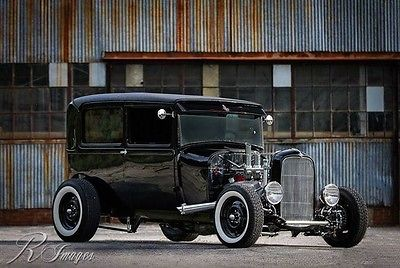 1929 Ford Model A sedan 1929 Ford Sedan Custom Professional Speed Shop Build 425HP Tci Chassis 6 spd