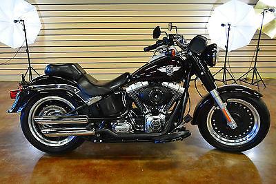 2014 Harley-Davidson Softail  2014 Harley Davidson Fat Boy Low FLSTFB 103 Clean Title New Dealer Trade In