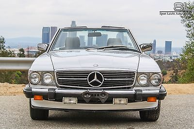 1987 Mercedes-Benz SL-Class Mercedes Benz 560SL Mercedes Benz 560SL