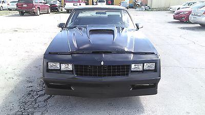1987 Chevrolet Monte Carlo Ss 1987 monte carlo ss