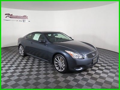 2010 Infiniti G37 Sport RWD Manual V6 Coupe Navigation Sunroof 75415 Miles 2010 Infiniti G37 RWD Coupe Heated Leather Seats Backup Camera