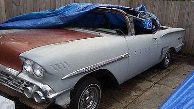 1958 Chevrolet Impala  1958 impala convertible