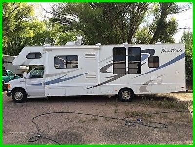 2008 Four Winds Chateau 31F 31' Class C RV 300HP Ford Gasoline 2 Slide Generator