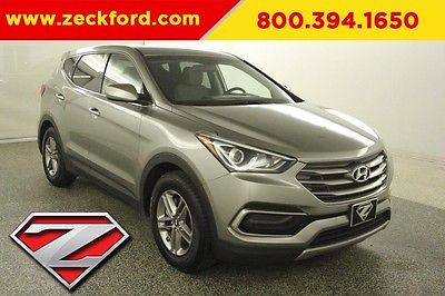 2017 Hyundai Santa Fe 2.4 Base 2.4L I4 Automatic FWD Backup Camera Power Windows Locks Cruise MP3 CD