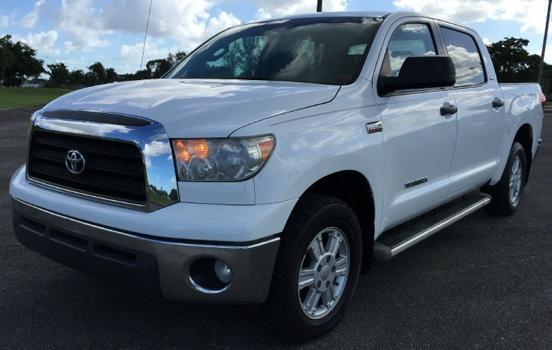 2008 Toyota Tundra CrewMax 5.7L V8 6-Spd AT