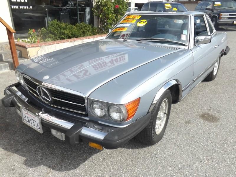 1984 Mercedes-Benz 380 Series 2dr Coupe 380SL