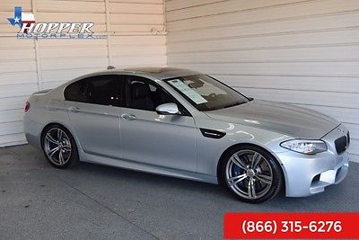 2013 BMW M5 Base HPA 2013 BMW M5 Base HPA 52515 Miles Silverstone Metallic Sedan 8 Manual