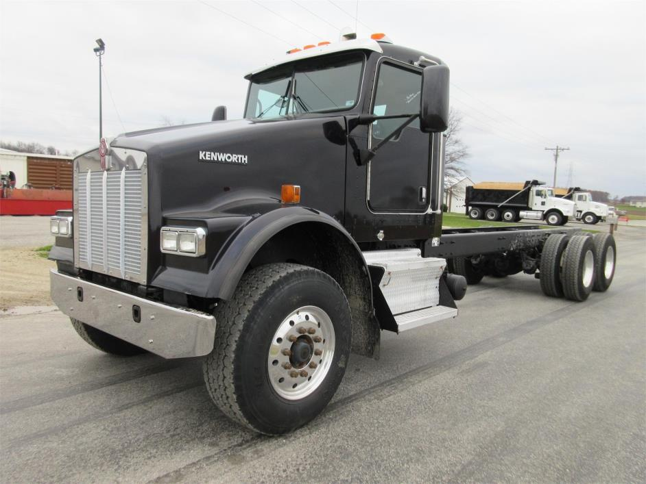 2008 Kenworth W900s Cab Chassis