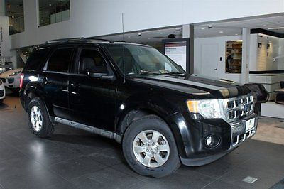 2010 Ford Escape Limited Sport Utility 4-Door 2010 SUV Used Gas I4 2.5L/152 6-Speed Automatic w/OD FWD Leather Black