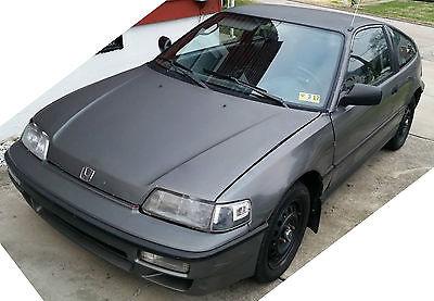 1991 Honda CRX 1991 Honda CRX HF ~ rebuilt