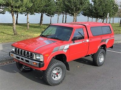 1982 Toyota Other SR5 1982 Toyota 4x4 Pickup / Restored / 22R / 5 spd. / One Only Truck