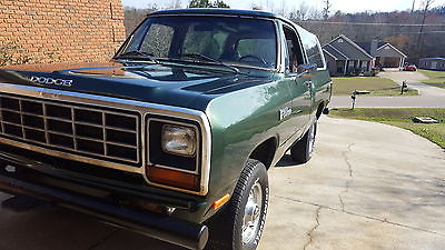 1982 Dodge Ramcharger W150 1982 Dodge Ramcharger