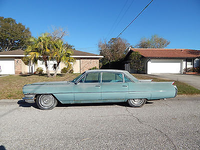 1964 Cadillac Series 62 / 6200 Rare Model, Low Mileage, Nice Interior traight Body Original 6 Wdw Sedan Pillar-less Doors Power Optns lucky 777 VIN