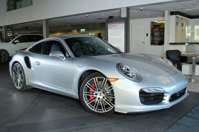 2014 Porsche 911 2014 Coupe Used Twin Turbo Premium Unleaded H-6 3.8 L/232 Automatic AWD Silver
