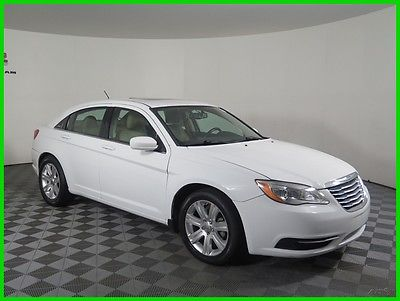 2012 Chrysler 200 Series Touring FWD I4 Sedan Sunroof Cloth Seats Automatic 135636 Miles 2012 Chrysler 200 FWD Sedan AUX USB Bluetooth Keyless Entry