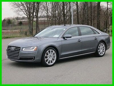 2015 Audi A8 NAV, SUNROOF, DRIVERS ASSIST, HEADS UP 2015 NAV, SUNROOF, DRIVERS ASSIST, HEADS UP Used 3L V6 24V Automatic AWD Sedan