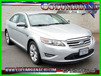 2012 Ford Taurus 4dr Sdn SEL FWD 2012 4dr Sdn SEL FWD Used 3.5L V6 24V Automatic FWD Sedan Premium