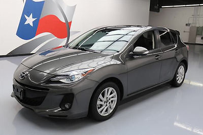 2013 Mazda Mazda3 i Hatchback 4-Door 2013 MAZDA MAZDA3 I GRAND TOURING HATCHBACK NAV 40K MI #839597 Texas Direct Auto