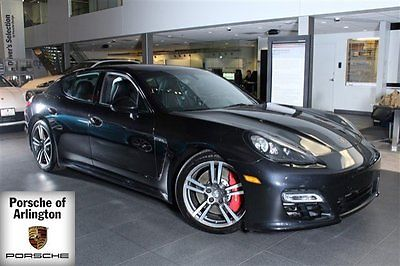 2013 Porsche Panamera GTS Hatchback 4-Door 2013 Hatchback Used Gas V8 4.8L/293 7-Speed Automatic w/Manual Shift AWD Black