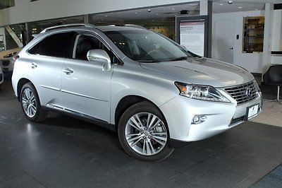 2015 Lexus RX Base Sport Utility 4-Door 2015 SUV Used Gas/Electric V-6 3.5 L/211 1-Speed CVT w/OD Hybrid AWD Leather