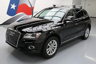 2015 Audi Q5 Premium Plus Sport Utility 4-Door 2015 AUDI Q5 QUATTRO PREMIUM PLUS AWD PANO ROOF NAV 14K #080100 Texas Direct