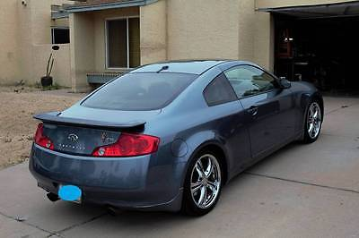 2005 Infiniti G35 Base Coupe 2-Door 2005 Infiniti G35 Coupe 3.5L V6 *Fully Upgraded Sport Package*