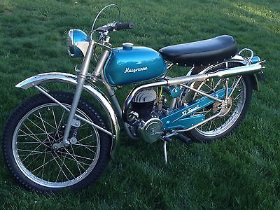 1957 Husqvarna Model 32 Sport  Vintage 1957 Husqvarna Model 32 Sport 120cc