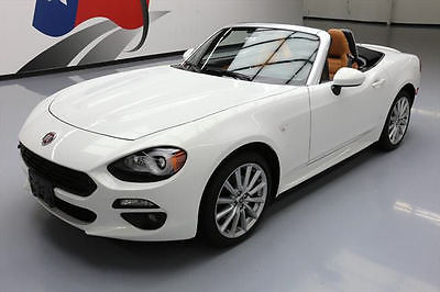 2017 Fiat Other  2017 FIAT 124 SPIDER LUSSO ROADSTER AUTO HTD LEATHER 4K #102348 Texas Direct