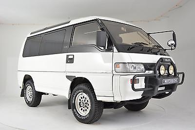 1991 Mitsubishi Delica -- 1991 Mitsubishi Delica 78,953 Miles White Van 2.4 Manual