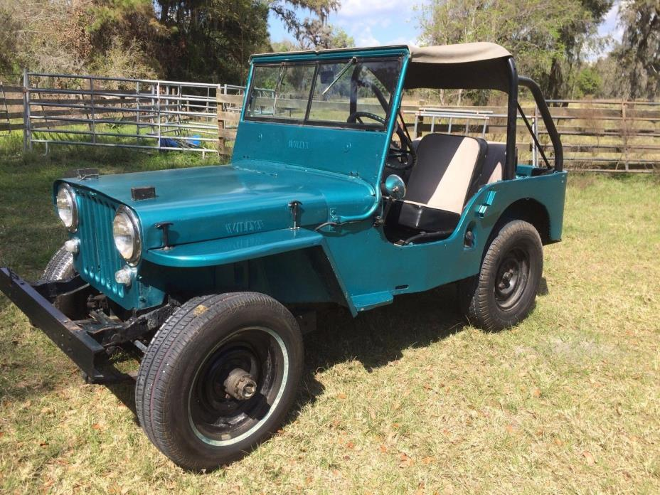 1948 Willys cj2a  1948 Willys cj2a Nice running Jeep