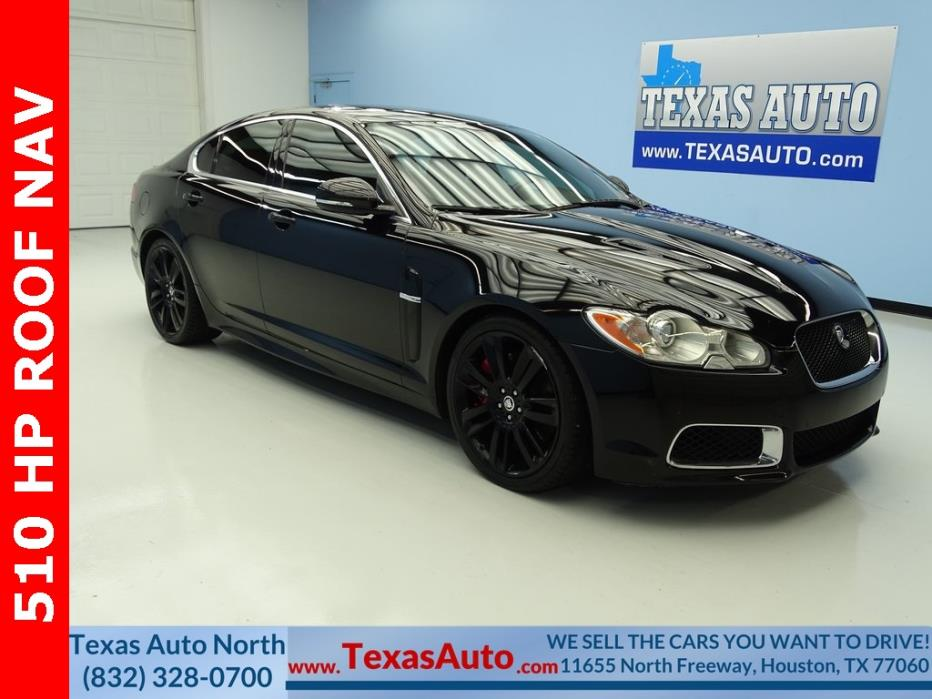 2011 Jaguar XF XFR 2011 Jaguar XF XFR 45574 Miles Ultimate Black 4D Sedan 5.0L V8 Supercharged 6-Sp