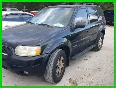 2002 Ford Escape XLT 2002 XLT Used 3L V6 24V Automatic FWD SUV
