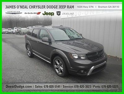 2017 Dodge Journey JOURNEY CROSSROAD 2017 JOURNEY CROSSROAD New 2.4L I4 16V Automatic FWD SUV Premium
