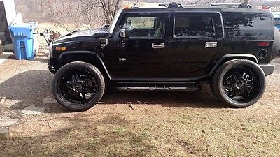 2003 Hummer H2  2003 hummer h2 blacked out.