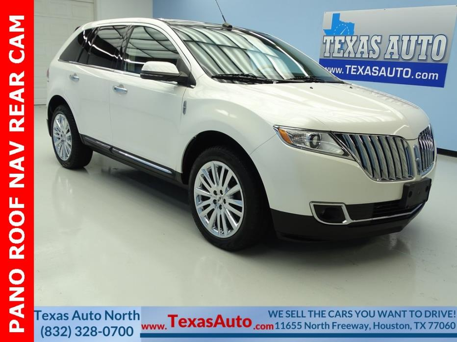 2013 Lincoln MKX -- 2013 Lincoln MKX  50368 Miles White Platinum Metallic Tri-Coat 4D Sport Utility