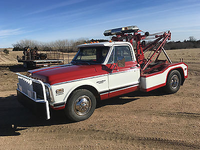 1972 Chevrolet C/K Pickup 3500  1972 Chevy C-30 Dually Towtruck with Holmes 500 wrecker bed