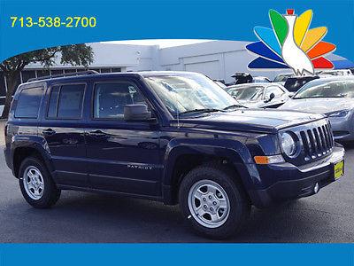 2016 Jeep Patriot Sport 2016 Jeep Patriot Sport SUV Blue Manual
