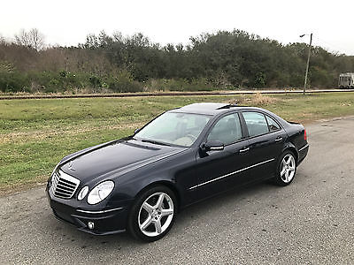 2009 Mercedes-Benz E-Class Base Sedan 4-Door 2009 Mercedes-Benz E550 Luxury Sedan AMG Package Navigation Salvage Rebuildable