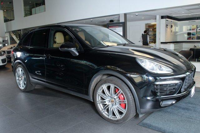 2014 Porsche Cayenne 2014 SUV Used Twin Turbo Premium Unleaded V-8 4.8 L/293 8-Speed Automatic w/OD
