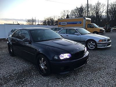 2004 BMW M3 Base Coupe 2-Door 2004 BMW M3 6 Speed Air Ride Carbon Fiber