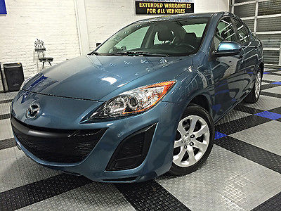 2011 Mazda Mazda3 i Sport Low Miles iPod/MP3 AUX Automatic Steering Wheel Audio Controls 6Disc Fuel