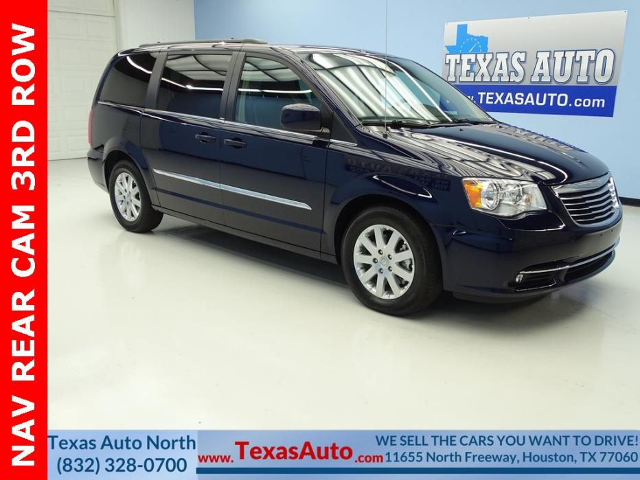 2013 Chrysler Town & Country Touring 2013 Chrysler Town & Country Touring 35133 Miles True Blue Pearlcoat 4D Passenge